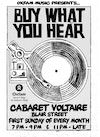 Flyer thumbnail for Oxfam Music Presents 'Buy What You Hear': Oxfam DJs
