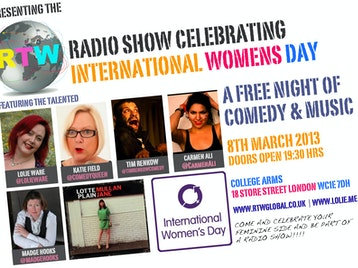 Rtw Radio Show: Lolie Ware, Madge Hooks, Carmen Ali, Lotte Mullan picture