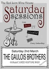 Flyer thumbnail for Saturday Sessions: Gauloise Brothers