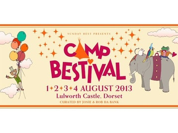Camp Bestival: Ash, Beardyman, Ben Waters, Billy Bragg, Clean Bandit, DJ Fresh, DJ Yoda, Dan Le Sac Vs Scroobius Pip, Fake Bush - Lucy Bundy, Filthy Boy, Fleetwood Bac, Folk Idol - Folk From Around The World, Gabrielle Aplin, Heaven 17, Howard Marks, I Am Kloot, IntroducingLive, J-Cats, Jaipur Maharaja Brass Band, Jaws, John Cooper Clarke, Kawa Circus, Kid Creole and The Coconuts, Lewis Watson, Lissie, London Grammar, Lucky Elephant, Mad Professor, Mark Owen, Mikill Pane, Mr B The Gentleman Rhymer, Musical Youth, Nik Kershaw, Sexy Sushi, The 1975, The Correspondents, The Cuban Brothers, The Farm, The Moulettes, The Polyphonic Spree, The Proclaimers, The Wurzels, Rob da Bank, Grandmaster Flash, Sasha, David Rodigan, A Love from Outer Space, Fabio & Grooverider, Jon More, Barry Ashworth, John Kennedy (DJ), Balearic Brothers, Feeling Gloomy, Tythe, DJ Coley, Sombrero Sound System, Richard Hawley, Levellers, Labrinth, Alan Davies, Alice In Wonderland Panto, BFI Film Club, BigTopMania Kids Theatre & Circus, Black Eagles Circus, Brit School, Cando2, CandoCo Dance Company, Craft & Nature Workshops, David Lynch Foundation Transcendental Meditation, Dick & Dom, Erth's Dinosaur Zoo, Freestyle Sports Park, Gideon Reeling, Gloria & The Explorers, Horrible Histories, Insect Circus, Jousting, Kids Big Art Village, Let It Be, Little Sunshine Little Rainfall, London Lucumi Choir, Lost & Found Theatre, Matthew Bourne's New Adventures, Maypole Dancing, Mechanical Menagerie, Morris Dancing, Mr Tumble, Royal Albert Hall Ginormous Percussion Orchestra, Shadow Puppetry & Storytelling, Shlomo, Tate Workshops, The Four Corners Treasure Trail, Young British Foodies picture