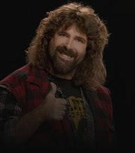 Mick Foley artist photo