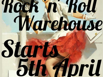 Rock 'n' Roll Warehouse Launch Night picture