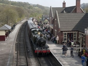 Kingsley&Froghall Station venue photo