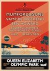 Flyer thumbnail for The Summer Stampede: Mumford & Sons, Vampire Weekend, Ben Howard, Edward Sharpe & The Magnetic Zeros, Haim, Bear's Den