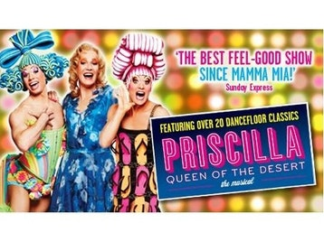 Priscilla Queen Of The Desert Tour Dates