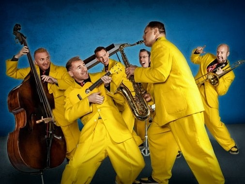 The Jive Aces Tour Dates
