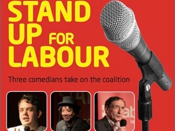 Stand Up For Labour: Arnold Brown, Joe Wells, Paul Ricketts picture