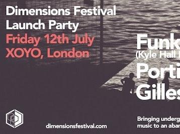 Dimensions Festival Launch: FunkinEven + Kyle Hall + Portico Quartet + Gilles Peterson + Auntie Flo + Eliphino + DJ Ossie + Black Orange Juice picture