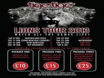 British Lions Tour Live picture