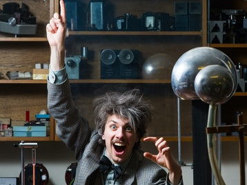 Albert Einstein: Relatively Speaking: Tangram Theatre Company picture