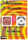 Flyer thumbnail for Summer Sounds: Weekend Sun + Glass Moths + DJ Grith The Equaliser