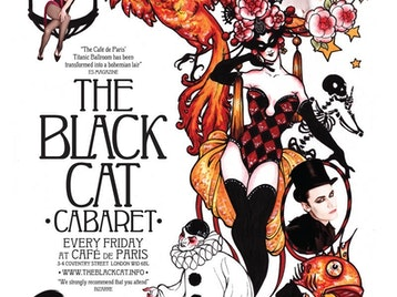 Black Cat Cabaret: Laurie Hagen, Florian Brooks, Vicky Butterfly, Cabaret Rouge picture