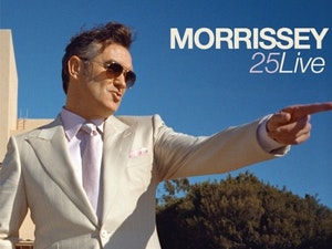 Film promo picture: Morrissey 25 Live