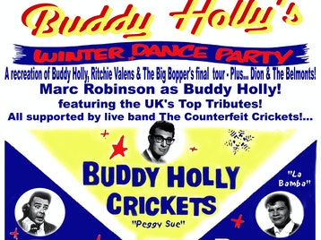 Buddy Holly's Winter Dance Party: Buddy Holly & The Counterfeit Crickets picture