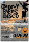 Flyer thumbnail for Groovy Babies Disco Halloween Special