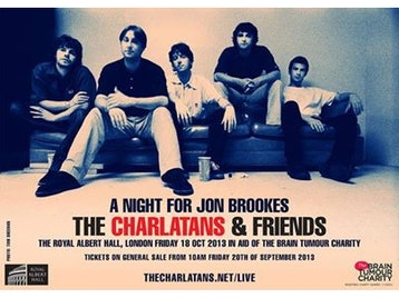 A Night For Jon Brookes: The Charlatans + James Dean Bradfield + Liam Gallagher + Members of The Vaccines and New Order + The Chemical Brothers + Dumb picture