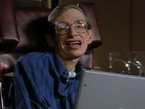 Film promo picture: Hawking