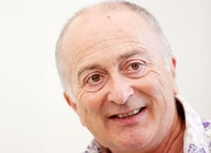 Sir Tony Robinson artist photo