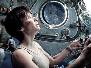 Film promo picture: Gravity