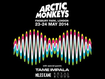Arctic Monkeys + Tame Impala + Miles Kane + Royal Blood picture