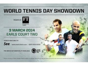 World Tennis Day Showdown: Andre Agassi, Pete Sampras, Pat Cash, Ivan Lendl picture