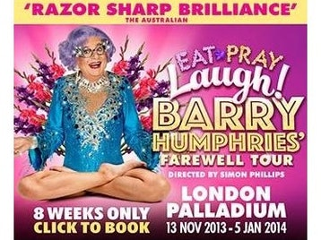 Eat Pray Laugh!: Barry Humphries, Dame Edna Everage, Sir Les Patterson picture