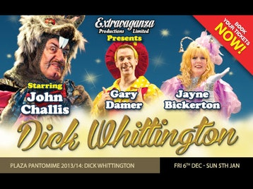 Dick Whittington: John Challis, Jayne Bickerton, Gary Damer picture