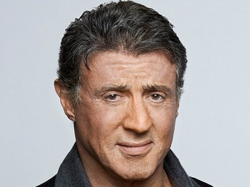 Sylvester Stallone artist photo