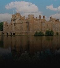Herstmonceux Castle artist photo