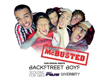 McBusted + Backstreet Boys + Scouting For Girls + FIVE + Diversity picture