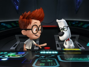 Film promo picture: Mr. Peabody & Sherman
