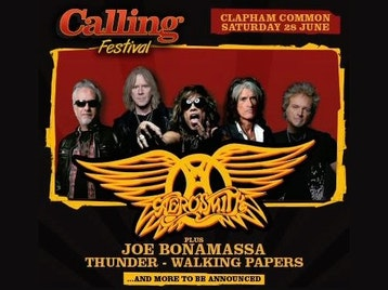 Calling Festival: Aerosmith + Joe Bonamassa + Richie Sambora + Thunder + Walking Papers + Tax The Heat picture