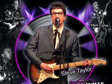 Steve Taylor's Buddy Holly Rock & Roll Party artist photo