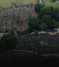 Ludlow Castle artist photo