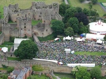 Ludlow Castle venue photo