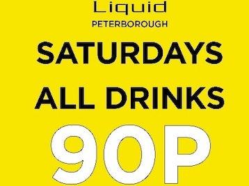 Liquid, Envy & Myu Bar Peterborough venue photo