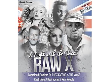 Raw X - A Night With The Voices: Shayne Ward + Marcus Collins + Janet Devlin + Chris Maloney + Jaz Ellington + Leanne Jarvis picture