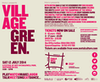 Flyer thumbnail for Village Green 2014