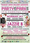 Flyer thumbnail for Party In The Park 2014 - It's Carnival Time