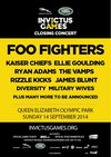 Flyer thumbnail for Invictus Games Closing Concert: Foo Fighters + Kaiser Chiefs + Ellie Goulding + Ryan Adams + The Vamps + Rizzle Kicks + James Blunt + Diversity + The Military Wives