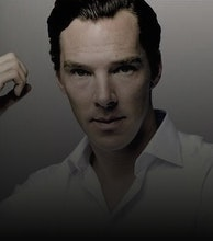 Benedict Cumberbatch artist photo