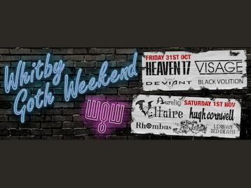 Whitby Goth Weekend 2014: Heaven 17, Visage, Deviant-UK, Black Volition, Voltaire, Hugh Cornwell, Rhombus, Bad Pollyanna, Lesbian Bed Death picture