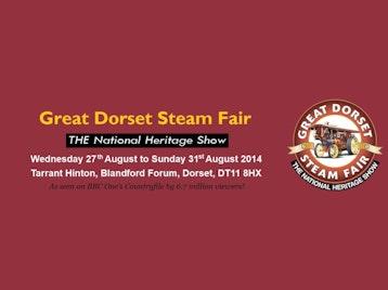Great Dorset Steam Fair Music Festival 2014 picture