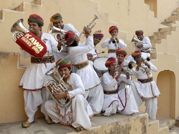 Jaipur Kawa Brass Band artist photo