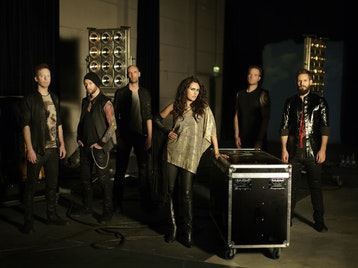 Within Temptation + Delain picture