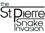 The St Pierre Snake Invasion artist insignia