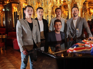 Collabro + Lucy Kay + Philippa Hanna picture
