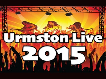 Urmston Live Festival 2015: Showaddywaddy + Bay City Rollers Starring Les McKeown + Abba's Angels + Paperlace + Small Weller + State Of Quo + One Night Of Queen With Gary Mullen + T.Rextasy + Macca Band + The Real Thing + The Rubettes (featuring Alan Williams) + The Jailbirds picture
