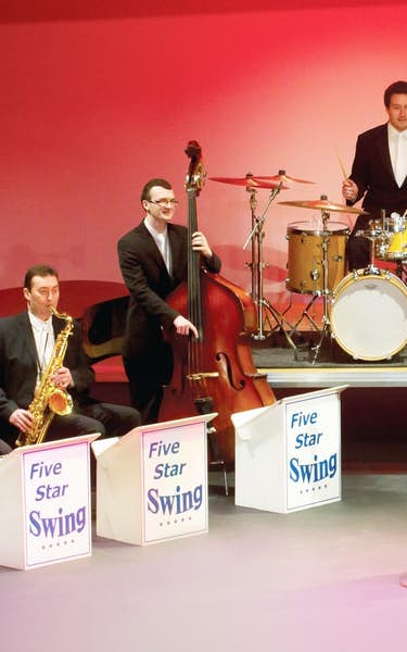 Five Star Swing: The Big Band Tour Dates