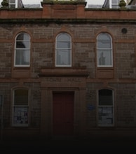 Stonehaven Town Hall artist photo